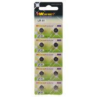 HW Hi Watt Alkaline LR41 - alkalické gombíkové batérie LR41 (10ks)
