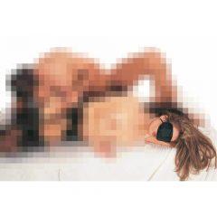 Blind Love - maska na oči (černá)