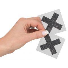 Lesklá nálepka na bradavky - X