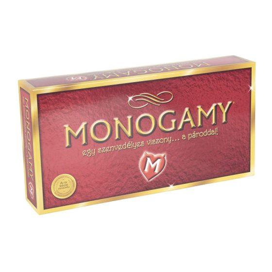 Monogamie - společenská hra pro dospělé (v maďarském jazyce)