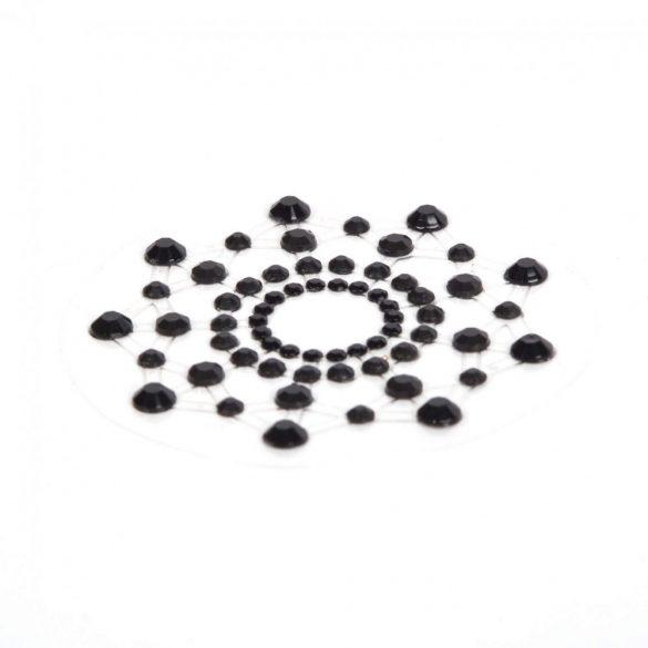 Mi mi silver nipple covers (Black)