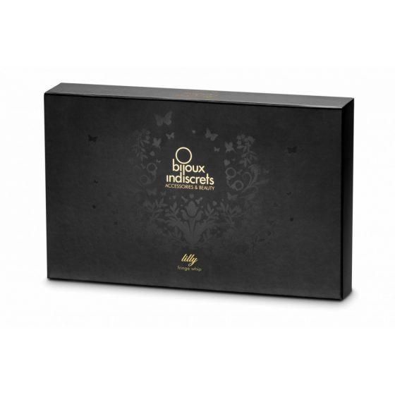 bijoux Indiscrets - bič s mašličkami (černý)