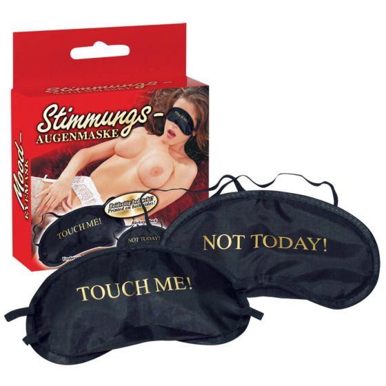 You2Toys Touch Me - maska na oči (čierno-zlatá)