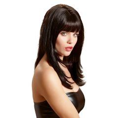 Cottelli Wig Long Black - dlouhá, černá paruka