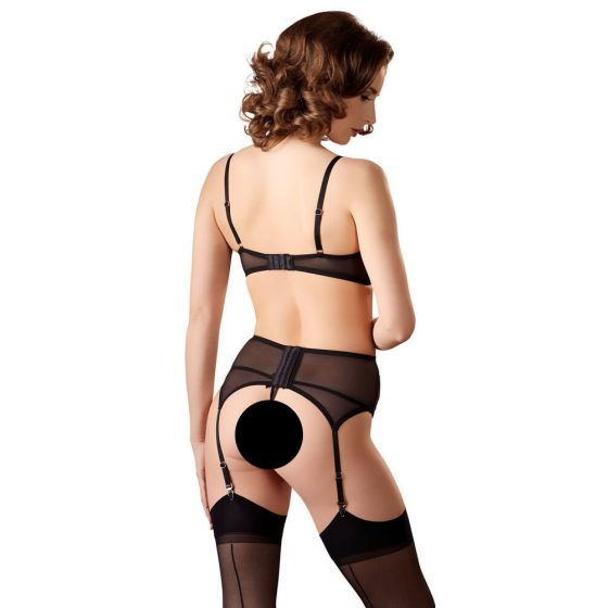 Bra Set with Slits in the Cups