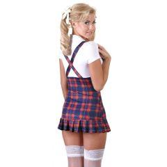 Cottelli – kostkované šaty studentky