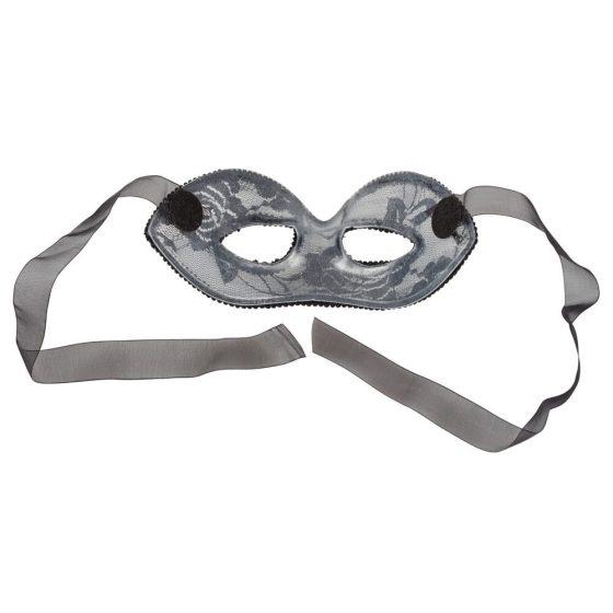 Cottelli - krajková maska na oči (černá)