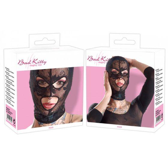 Bad Kitty - krajková maska na hlavu