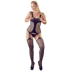 NO: XQSE - combined underwear set with thong (black)