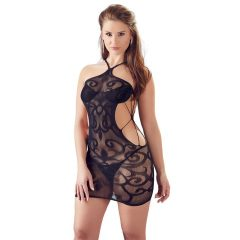 Mandy Mystery - Twisted Mesh Fishnet with Tangle (Black)