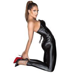 Noir - long, shiny shoes (black)