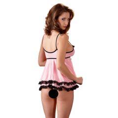 Cottelli Babydoll Rosa - babydoll (růžové)