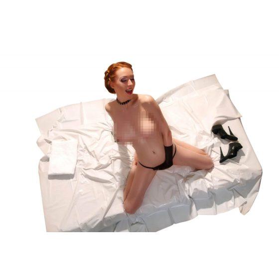 Lakovaná plachta - bílá (200x230cm)