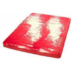 Lesklá plachta - červená