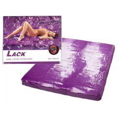 Lesklá plachta - pogumovaná (fialová)