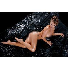 Fetish Collection - lakovaná plachta černá (200x230cm)