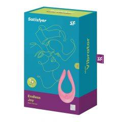 Satisfyer Endless Joy - nabíjecí párový vibrátor (růžový)