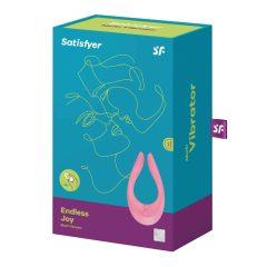 Satisfyer PARTNER Multifun 2 - nabíjecí párový vibrátor (růžový)