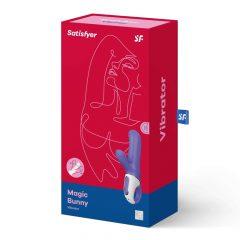 Satisfyer Magic Bunny - vodotěsný, nabíjecí vibrátor s ramínkem na klitoris (modrý)