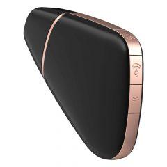Satisfyer Love Triangle - nabíjecí, vodotěsný, smart vibrátor a stimulátor na klitoris (černý)