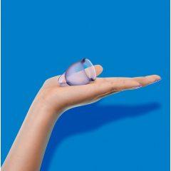 Satisfyer Feel Confident - sada menstruačních kalíšků (fialová) - 2ks