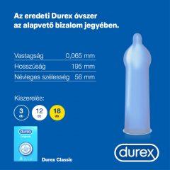 Durex Classic - kondomy (18ks)