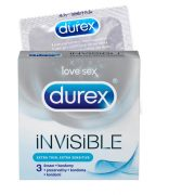Durex Invisible - extra senzitivní kondomy (3ks)