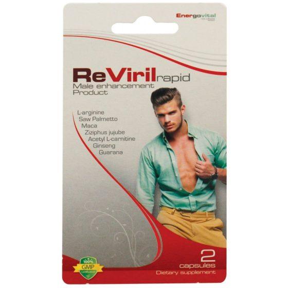ReViril Rapid výživový doplněk pro muže (2ks)