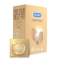 Durex Real Feel - bezlatexové kondomy (16ks)