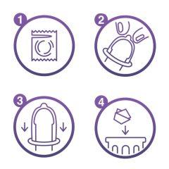 Durex Feel Intimate - balík tenkých kondomů (4 x 12ks)