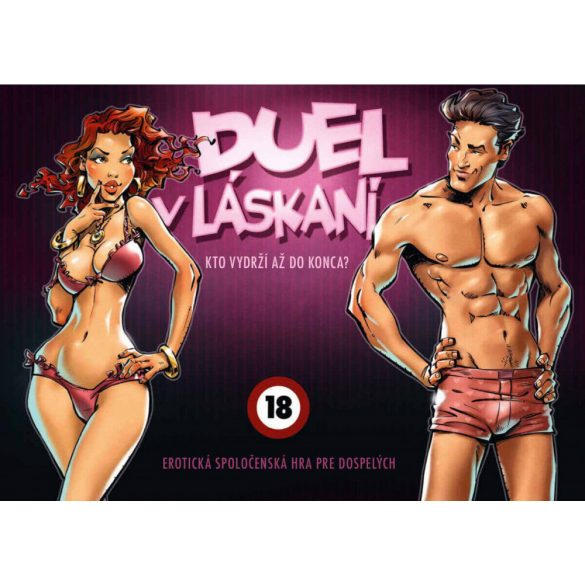 Duel v láskaní - společenská hra
