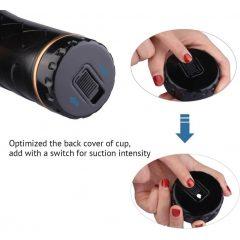 Tracysdog Masturbator Cup Black anal Pocket