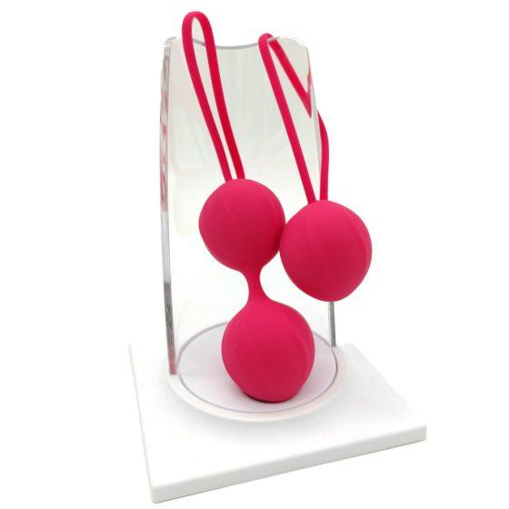 Cotoxo Cherry - dvoudílná sada venušiných kuliček (červená)