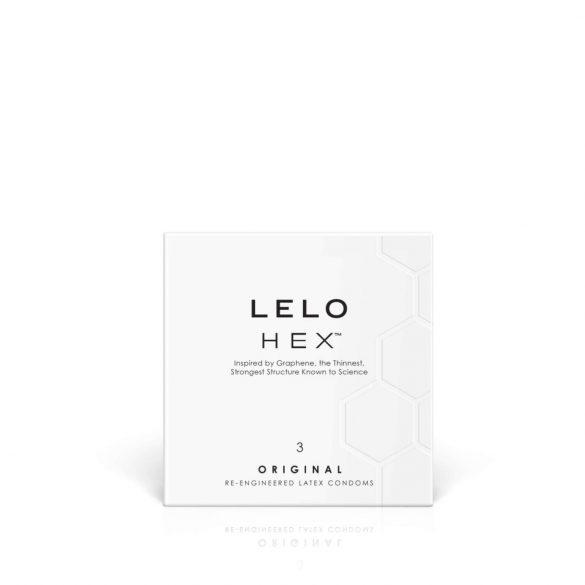LELO Hex Original - kondomy (3ks)