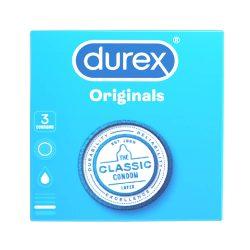 Durex klasické kondomy (3 ks)