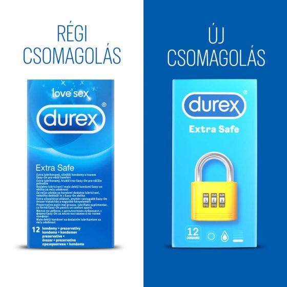 Durex extra safe - bezpečný kondom (12ks)