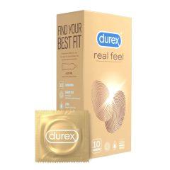 Durex Real Feel - bezlatexové kondomy (10 ks)