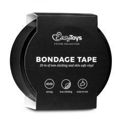 Easytoys Tape - bondage páska - černá (20m)