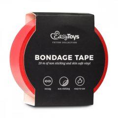 Easytoys Tape - bondage páska - červená (20m)