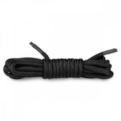 Easytoys Rope - bondage lano (5m) - černé