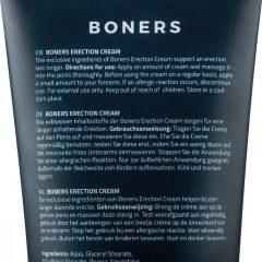 Boners Erection - intimní stimulační krém pro muže (100ml)