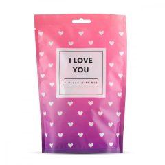 LoveBoxxx I Love You - souprava s vibrátorem (7 dílna sada)