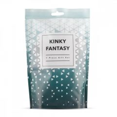 LoveBoxxx  Kinky Fantasy - souprava s vibrátorem (7 dílna sada)