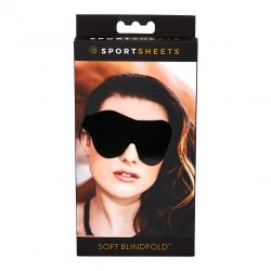 SPORTSHEETS - SOFT BLINDFOLD BLACK