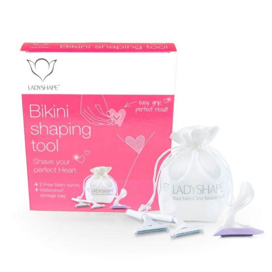 LadyShape Bikini Shaping Tool - pro dokonalý střih na intimních místech (srdce)