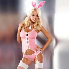 Obsessive - kostým zaječice (růžový)