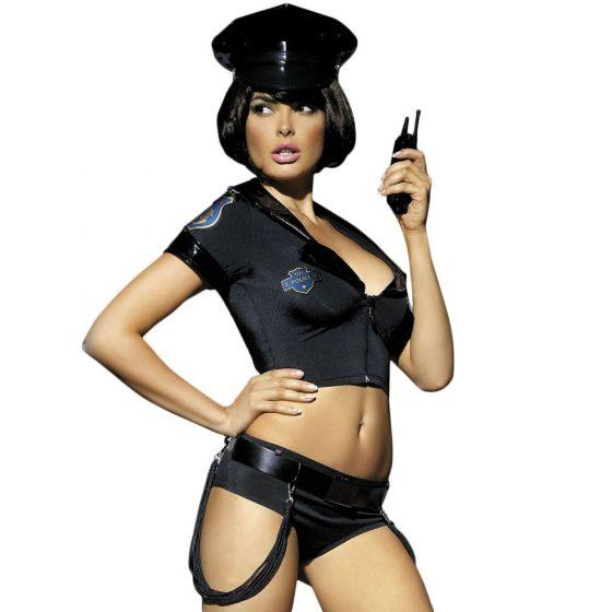 Obsessive Police - kostým sexy policistky