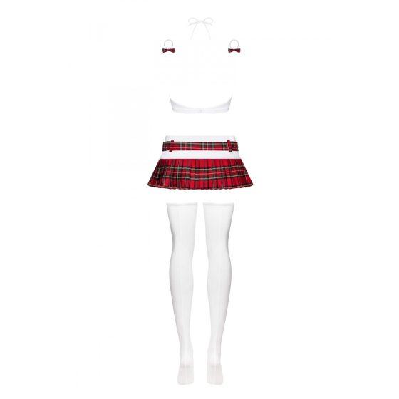 Obsessive Schooly - kostým studentky (6 dílná souprava)
