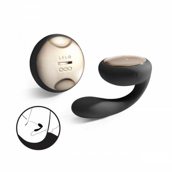 LELO Ida – rotačný párový vibrátor (čierny)