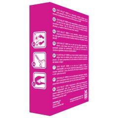 Love Bullet - vodotestný mini vibrátor (pink)